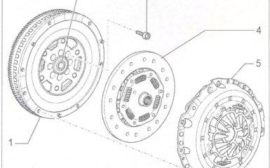 Замена сцепления МКП 0А2 на VW Passat B5 GP