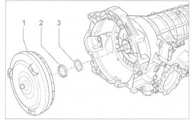 Гидротрансформатор АКПП 01V: установка и замена сальника на VW Passat B5 GP