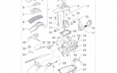 Ремонт механизма управления АКПП 01V на VW Passat B5 GP