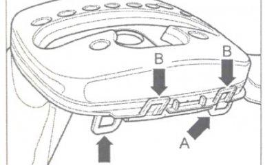 Снятие и установка кожуха рычага селектора АКПП 01V на VW Passat B5 GP