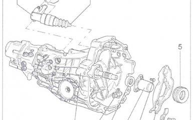 Замена рычага выключения сцепления МКП 01Е/0А1 на VW Passat B5