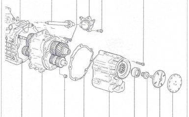 Разборка и сборка коробки передач 01Е/0А1 на VW Passat B5