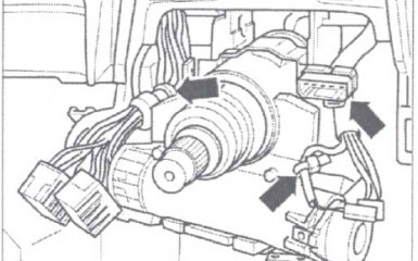 Замена вала рулевой колонки Volkswagen Passat B5 GP