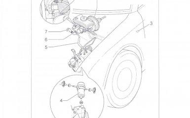 Замена вакуумного насоса усилителя тормозного привода (бензин, АКПП) Volkswagen Passat B5 GP