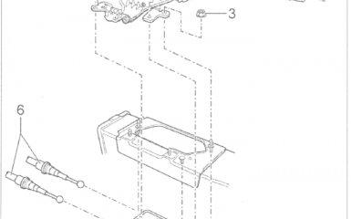 Cтояночный тормоз Volkswagen Passat B5 GP