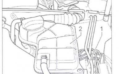Замена датчика давления тормозной жидкости (BOSCH 5.7) на VW Passat B5