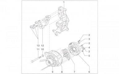 Замена генератора VW Passat B5, 2000 - 2005 г.в.