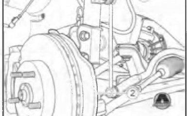 Замена нижнего рычага передней подвески в сборе Geely Emgrand EC7