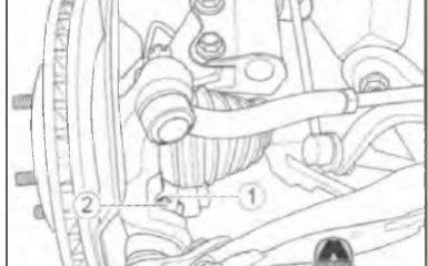 Замена шаровой опоры нижнего рычага передней подвески Geely Emgrand EC7