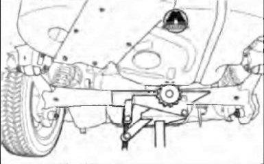 Замена задней амортизаторная стойка в сборе Geely Emgrand EC7