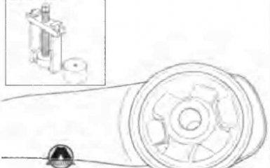 Замена втулок балки задней подвески Geely Emgrand EC7