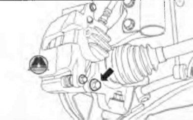 Замена передних тормозных колодок Geely Emgrand EC7