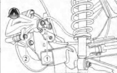 Замена задних тормозных колодок Geely Emgrand EC7