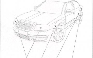 Автоматическая регулировка наклона фар (модели с газоразрядными лампами) VW Passat B5