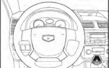 Замена рулевого колеса Geely Emgrand EC7, 2010 - н.в.