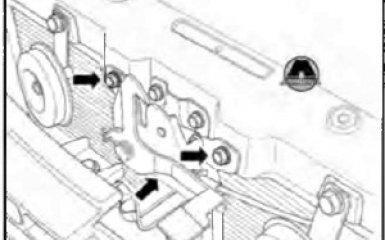 Замена замка крышки капота Geely Emgrand EC7, 2010 - н.в.