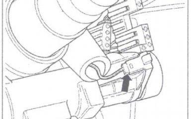 Замена замка/выключателя зажигания VW Passat B5