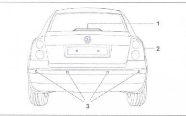 Замена парктроника VW Passat B5