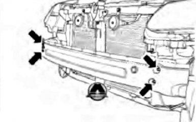 Замена балки переднего бампера Geely Emgrand EC7