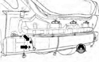 Замена балки заднего бампера Geely Emgrand EC7