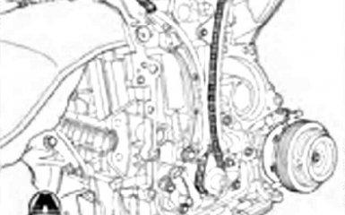 Замена цепи привода ГРМ Geely Emgrand EC7