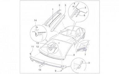 Замена лобового стекла VW Passat B5