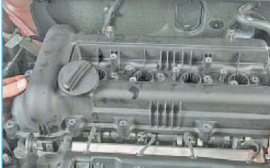 Установка поршня в ВМТ положение Hyundai Solaris (RB), 2010 - 2017 г.в.