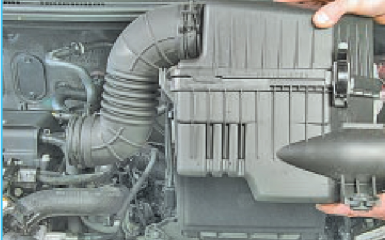Замена прокладки впускной трубы Hyundai Solaris (RB), 2010 - 2017 г.в.