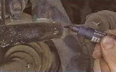 Замена наружного наконечника рулевой тяги на Geely МК / МК Cross