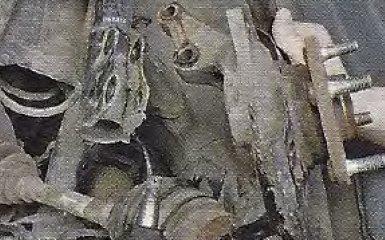 Замена подшипника передней ступицы на Geely МК / МК Cross