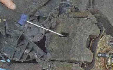 Замена тормозной скобы на Geely МК / МК Cross