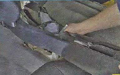 Замена тросов стояночного тормоза Geely МК / МК Cross