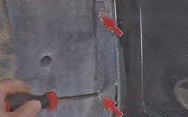Снятие и установка брызговиков Geely МК / МК Cross
