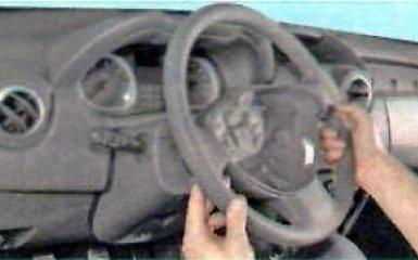 Замена рулевой колонки на Renault Duster