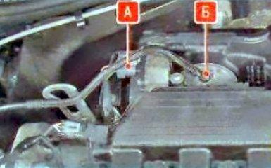 Снятие и установка дроссельного узла Renault Duster, 2010 - 2015 г.в.
