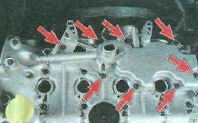 Очистка системы вентиляции картера Renault Duster