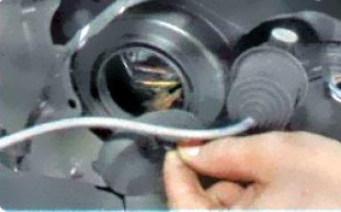 Замена ламп на Renault Duster