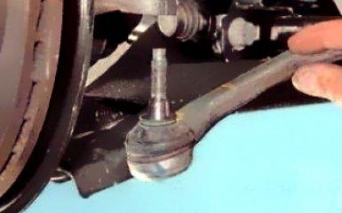 Замена рулевой тяги Renault Duster