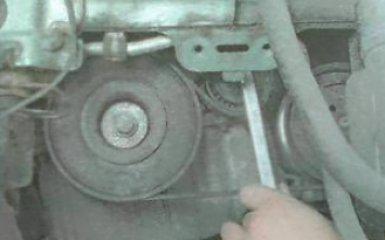 Замена ремня привода агрегатов Renault Duster