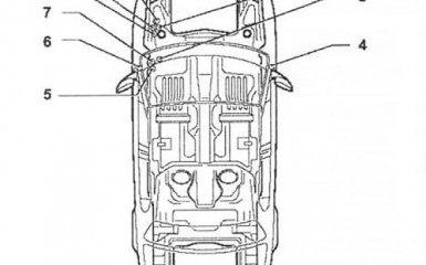 Предохранители и реле VW Passat B6