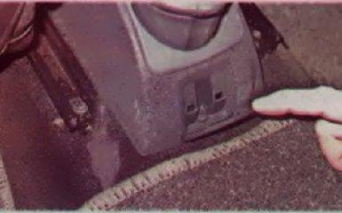 Регулировка стояночного тормоза на Renault Logan 2