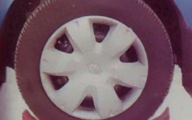 Замена колеса на Renault Logan 2