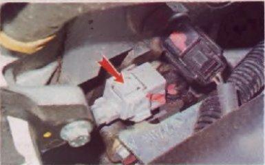 Замена датчика коленвала Renault Logan 2