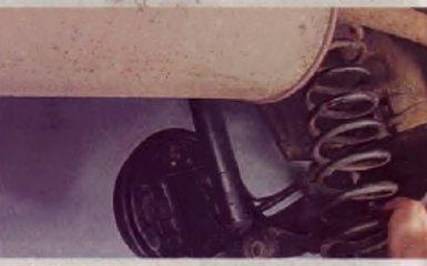 Замена задних пружин на Renault Logan 2