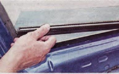 Замена стекла передней двери Renault Logan 2