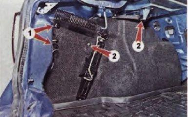 Замена обшивки багажника Рено Логан 2