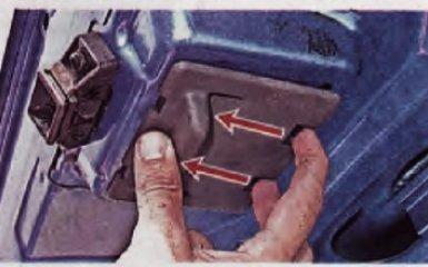 Замена замка багажника Рено Логан 2