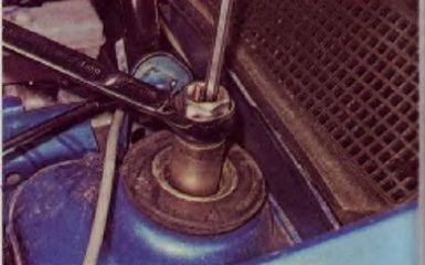 Замена передних стоек на Renault Logan 2