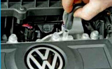 Очистка вентиляции картера двигателя Volkswagen Polo 5 sedan 1.6