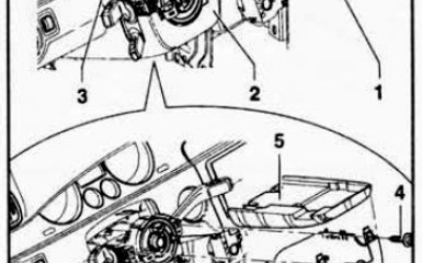 Замена кожуха рулевой колонки VW Passat B6
